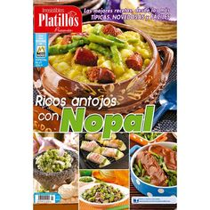 Revista Irresistibles Platillos Especial no. 21 - Ricos antojos con Nopal - Formato Impreso - Vista México