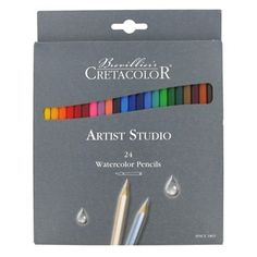Savoir-Faire Brevilliers Cretacolor Artist Studio Watercolor Pencils 24-Piece Set   Shop Hobby Lobby