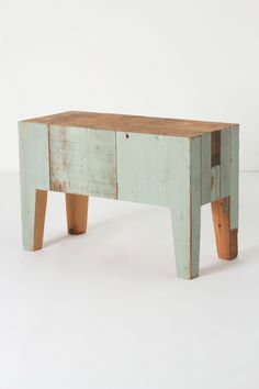 Anthropologie, Cuthbert Bench Table.