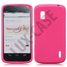 Soft Shell (Sterk Rosa) Google Nexus 4 Deksel Google Nexus, Shell, Phone Cases, My Love, Conch, Shells