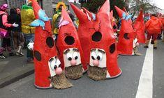 In Süchteln und Dülken feierten die Narren Karneval. Aufwendige Kostüme hatten sich die Fußgruppen beim Rosenmontagszug in Dülken gebastelt. In Süchteln schneite es und es ging auch mal kritisch zu. Stichwort: Geriatrie. Spaß und Frohsinn war aber bei beiden Rosenmontagszügen die Hauptsache.