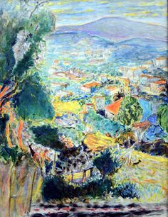 "Le Cannet, 1939. In 1926, after visiting the south of France several times, Pierre Bonnard bought a small house in Le Cannet, which he called ""Le Bosquet"". He resided there from 1939 until his death. Many people consider that it was during this period that he produced his best work: Le Cannet is to Bonnard's work what Giverny is to Monet's."