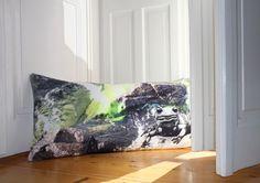 #salamander #wildwater #photography #cushion #welcome #organic // #wasser #fluss #fotografie #willkommen #kissen #bio