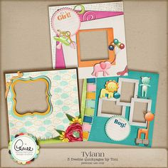 freebie quickpages by Toni for Aimee Harrison Design Studios