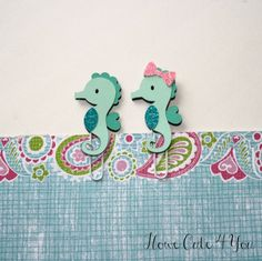 Seahorse Page Clip Bookmark for FiloFax Erin Condren Day Planner Kikki K paper clip planner clip Crafts To Make, Arts And Crafts, Paper Crafts, Paper Clips Diy, Paperclip Crafts, Diy Bookmarks, Paper Decorations, Craft Fairs, Happy Planner