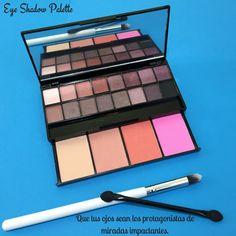 Palette eyeshadow blush makeup