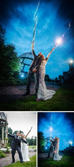 Pixies in the Cellar: Harry Potter themed wedding on the Wirral