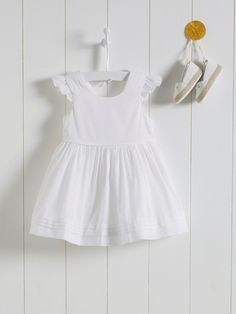 Robe de cérémonie bébé - Blanc - 3