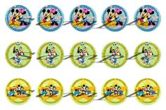 Mickey Mouse and Friends Bottle Cap Images by HandGCrafts on Etsy