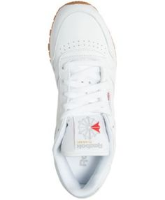 Reebok Women's Classic Leather Casual Sneakers from Finish Line - White 5.5