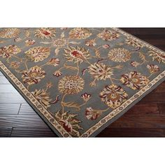 Hand-tufted Alamosa Wool Rug (8' x 10') $404