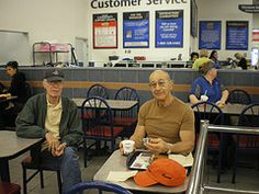 June 24, 2008. Bill and Gene Madeo old school buddies.