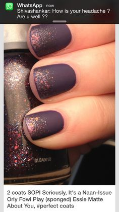 Need to get matte