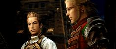 So I've been replaying Final Fantasy XII. Contrary to what he may believe, Balthier is not the protagonist of FFXII.  This is generally agreed to be the game's greatest flaw.  Basch is cool too.  (It's animated!  Click it!)