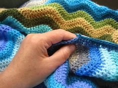 46 Best Ripple Crochet Edging Ideas Images Crochet