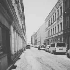 Cold Streets of #neukoelln #berlin #russian #freeze #snowy