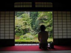 Repose at Unryu-in Photo © @KyotoDailyPhoto