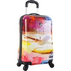 Heys America Cruise 21' Carry-On Spinner Luggage >>> Click image for more details. (This is an Amazon Affiliate link and I receive a commission for the sales)