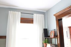 Can T Paint The Oak Trim So How To I Update Love The
