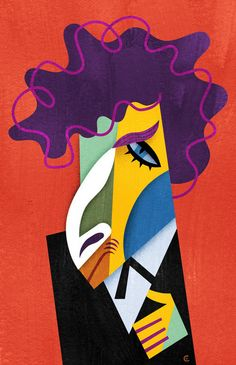 [ Bob Dylan ]  - artist: David Cowles - website: http://www.illoz.com/cowles