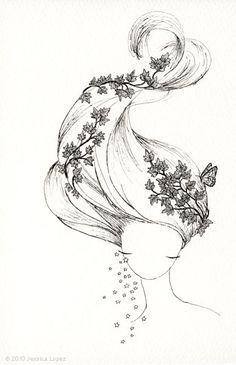 I don't know what's worse: to not know what you are and be happy, or to become what you've always wanted to be, and feel alone. — Flowers for Algernon by Daniel Keyes Jessica Lopez Illustration Cute Drawings, Drawing Sketches, Drawing Ideas, Zantangle Art, Illustration Arte, Nature Tattoos, Pencil Art, Doodle Art, Love Art