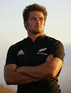 The very fine-looking Richie McCaw, champion New Zealand All Blacks captain.