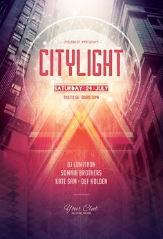City Light Flyer by styleWish (Download Psd file)