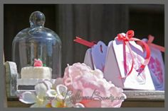 Princess Swan Party Printables Photoshoot - Favors & glass bell jar favors!