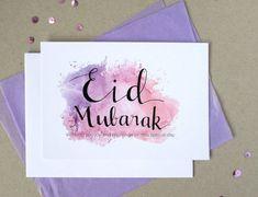 Eid Mubarak Wishes, Eid Mubarak Greetings, Happy Eid Mubarak, Adha Mubarak, Eid Crafts, Ramadan Crafts, Ramadan Decorations, Handmade Cards For Friends, Eid Greeting Cards