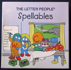 Letter People Spellables Alphabet Cards/ Box full classroom set Homeschool #AbramsCompany