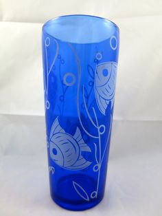 Art Deco Cocktail Shaker Fish Tank 1930's by BonniesVintageAttic