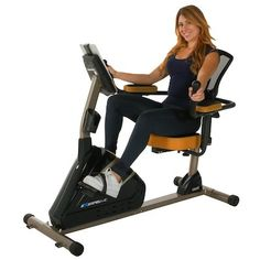 The Exerpeutic 4000 Magnetic Recumbent Bike is a very nice bike at a good price point. For the price you're getting some great features that you'd expect to find on top of the line models.