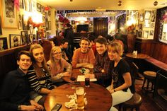 RSC Key Christmas Pub Quiz at Stratford-upon-Avon's infamous Dirty Duck pub.