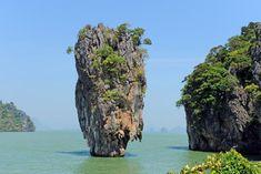 Phangna Bay and James Bond Island, Thailand - Blonde Brunette Travel Krabi, Chiang Mai, Bangkok, Asia Cruise, Karon Beach, James Bond Island, Phuket Travel, Thai Islands, Phuket Thailand