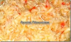 risotto_au_crabe Risotto, Grains, Food, Rice, Cooking Recipes, Hoods, Meals, Seeds