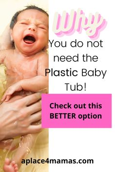 Have you seen all the plastic baby tubs on the market? Are you confused? Here's the good news, you do not need anything of them! Here is what I have used with 3 kids for a fraction of the price! #babysfirstbath #ditchtheplastic #babyessentials #betteroption #beentheredonethat Newborn Essentials List, Baby Checklist Newborn, Newborn Baby Care, Getting Ready For Baby, Preparing For Baby, Advice For New Moms, Mom Advice, Baby Tub, All About Mom