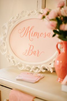 Bridal shower decorations vintage mimosa bar 69 ideas for 2019 Bridesmaid Luncheon, Bridal Luncheon, Tropical Bridal Showers, Tea Party Bridal Shower, Wedding Boudoir, Bling Wedding, Wedding Flowers, Mimosa Bar, Table Design