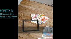 DIY Dollar store picture frame hack