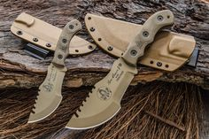 TOPS: 2 New Tom Brown Tracker Knives | RECOIL