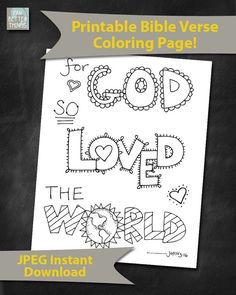 Bible Verse Coloring Page John 1335 Printable 85x11