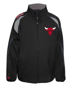 Take a look at this Chicago Bulls Zip-Up Jacket - Men's Big & Tall today!