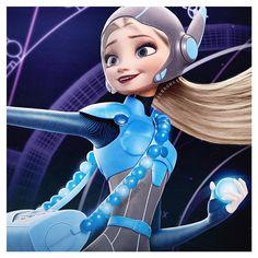 Frozen and Big Hero 6 crossover