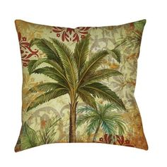 Shop for Thumbprintz Palms Pattern III Indoor/ Outdoor Pillow. Free Shipping on orders over $45 at Overstock.com - Your Online Home Decor Outlet Store! Get 5% in rewards with Club O!