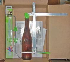 glass bottle cutter - 25$ on amazon
