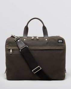 Jack Spade Waxwear Slim Briefcase