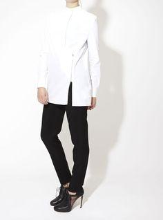 Celestine Eleven CHALAYAN I Zip Shirt I CELESTINEELEVEN.COM #celestineeleven #chalayan