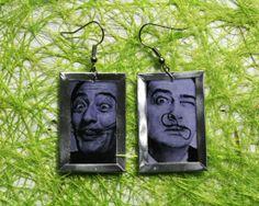 Handmade Salvador Dali liquid glass earrings  https://www.etsy.com/listing/154723321/handmade-salvador-dali-liquid-glass?ref=shop_home_active_15