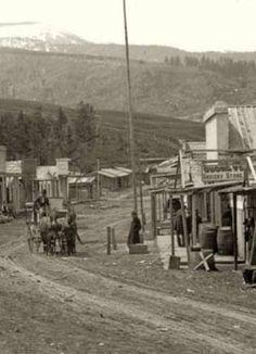 Pioneer City Montana, 1883