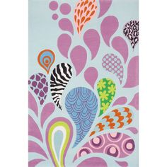 Funky Paisley Area Rug (5'x7'), Variation Parent