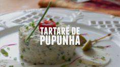 Tartare de pupunha  | Receitas Saudáveis - Lucilia Diniz
